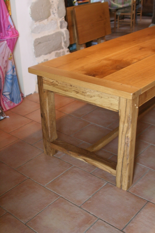 menuiserie vivian cancel tables en ch ne massif. Black Bedroom Furniture Sets. Home Design Ideas